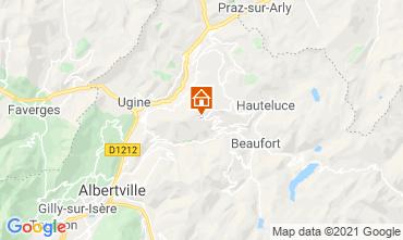 Karte Les Saisies Appartement 112846