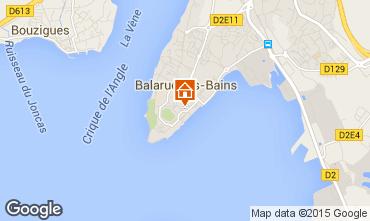 Karte Balaruc les Bains Appartement 64414