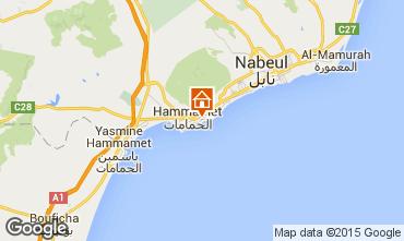 Karte Hammamet Villa 64711