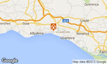 Karte Albufeira Appartement 80766