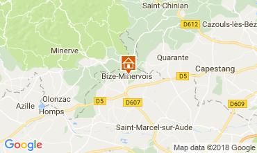 Karte Bize-Minervois Haus 115078
