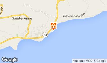 Karte Sainte Anne (Guadeloupe) Appartement 14725