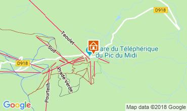 Karte La Mongie Appartement 116498