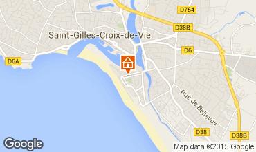 Karte Saint-Gilles-Croix-de-Vie Appartement 98354