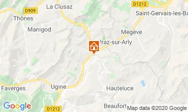 Karte Les Saisies Studio 112090