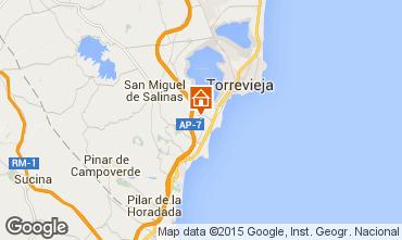 Karte Torrevieja Villa 89120