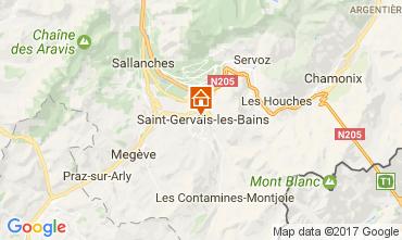 Karte Saint-Gervais-les-Bains Appartement 108922