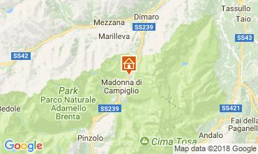 Karte Madonna di Campiglio Appartement 101339