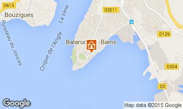 Karte Balaruc les Bains Appartement 18899