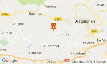 Karte Lorgues Villa 115618