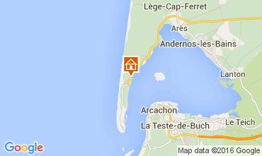 Karte Cap Ferret Villa 68339