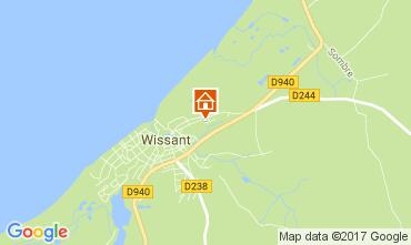 Karte Wissant Haus 108004