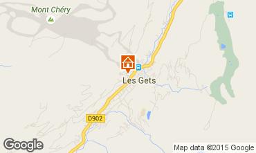 Karte Les Gets Chalet 1353