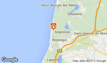 Karte Hossegor Villa 38252