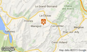 Karte Manigod-Croix Fry/L'étale-Merdassier Studio 77964