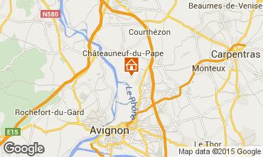Karte Avignon Villa 93665