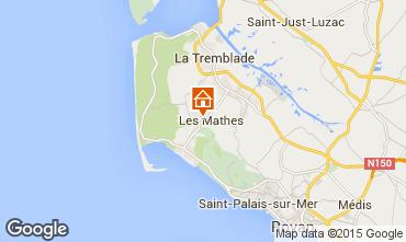 Karte Les Mathes Mobil-Home 102249