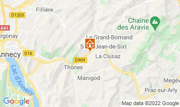 Karte La Clusaz Appartement 72766