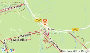 Karte Val d'Isère Studio 38836