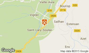 Karte Saint Lary Soulan Appartement 4489