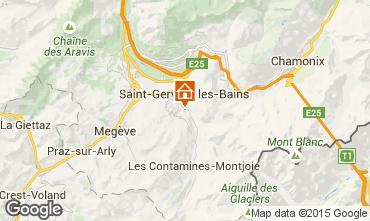 Karte Saint-Gervais-les-Bains Appartement 2576