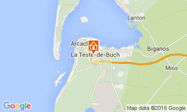 Karte Arcachon Appartement 93098