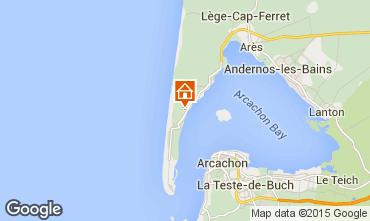 Karte Cap Ferret Villa 9375