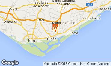 Karte Olhão Appartement 100082