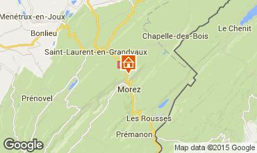 Karte Les Rousses Mobil-Home 24143