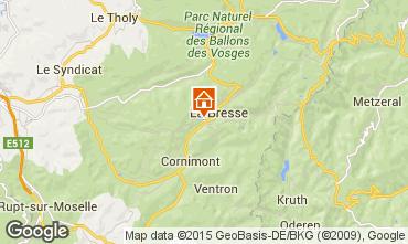 Karte La Bresse Appartement 30998