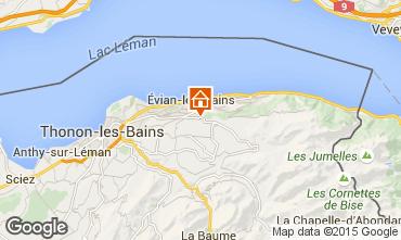 Karte Evian les Bains Appartement 92987