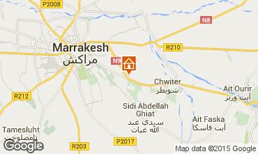 Karte Marrakesch Villa 75429