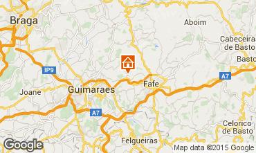 Karte Fafe Ferienunterkunft auf dem Land 97953