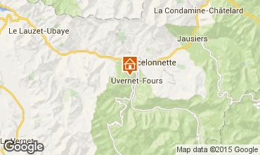 Karte Pra Loup Chalet 76233