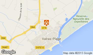 Karte Valras-Plage Mobil-Home 86514