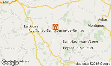 Karte Les Eyzies de Tayac Haus 12399