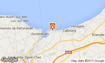Karte Cabourg Haus 10769