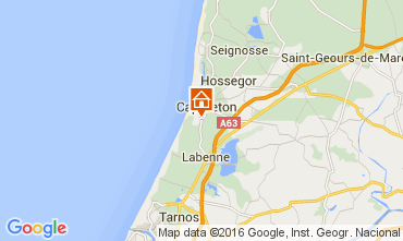 Karte Capbreton Appartement 44878