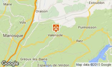 Karte Valensole Villa 101509