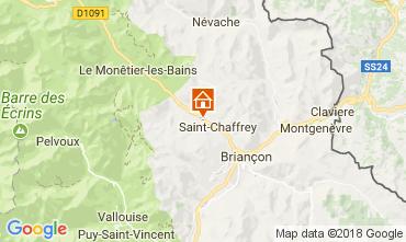 Karte Serre Chevalier Chalet 112915