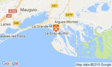 Karte Le Grau du Roi Studio 51828