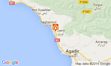 Karte Agadir Appartement 73626