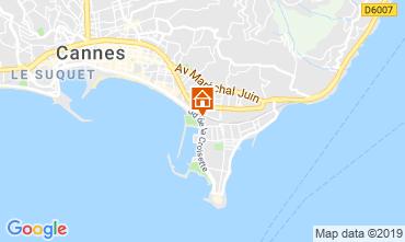Karte Cannes Appartement 45923