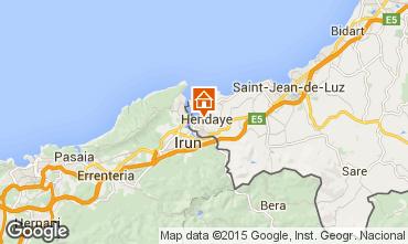 Karte Hendaye Appartement 82155