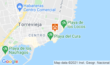 Karte Torrevieja Appartement 75230