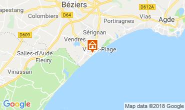 Karte Valras-Plage Villa 117077