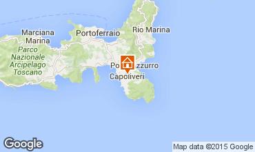 Karte Capoliveri Appartement 74192