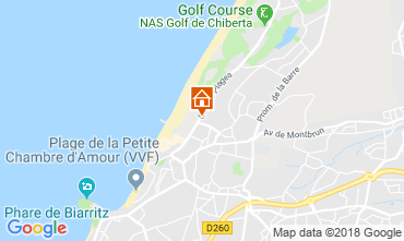 Karte Biarritz Appartement 82742