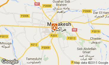 Karte Marrakesch Villa 81043