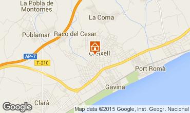 Karte Torredembarra Haus 85188